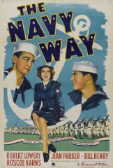 The Navy Way 1944 DVD - Robert Lowery / Jean Parker